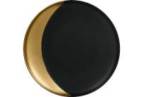 Metalfusion, Teller tief ø 270 mm black-gold