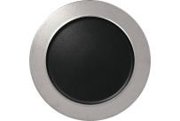 Metalfusion, Teller flach ø 320 mm black-silver