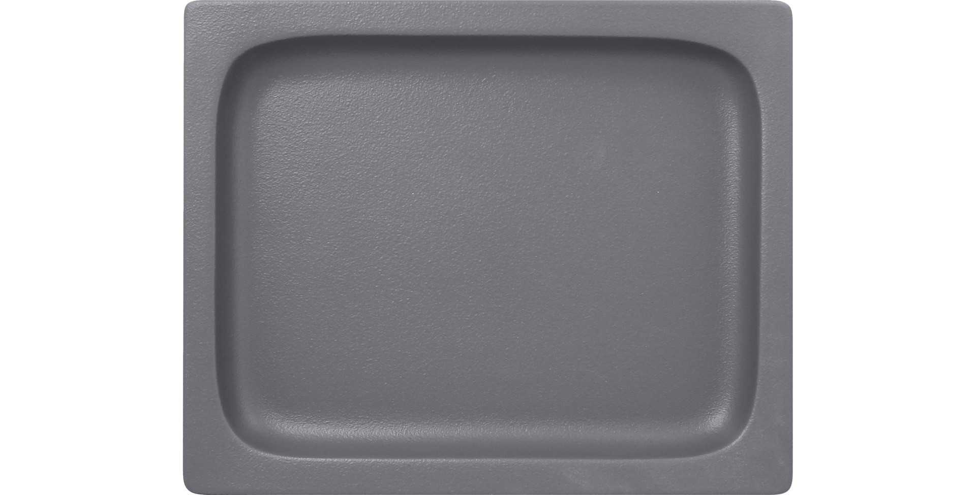 Neofusion, GN-Schale GN 1/2 flach 325 x 265 mm / 1,30 l stone