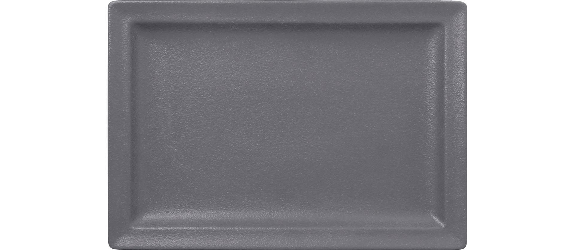 Neofusion, Teller flach rechteckig 330 x 230 mm stone