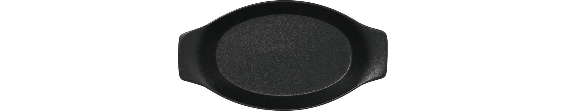 Neofusion, Schale oval mit Griffen 200 x 110 mm / 0,20 l volcano
