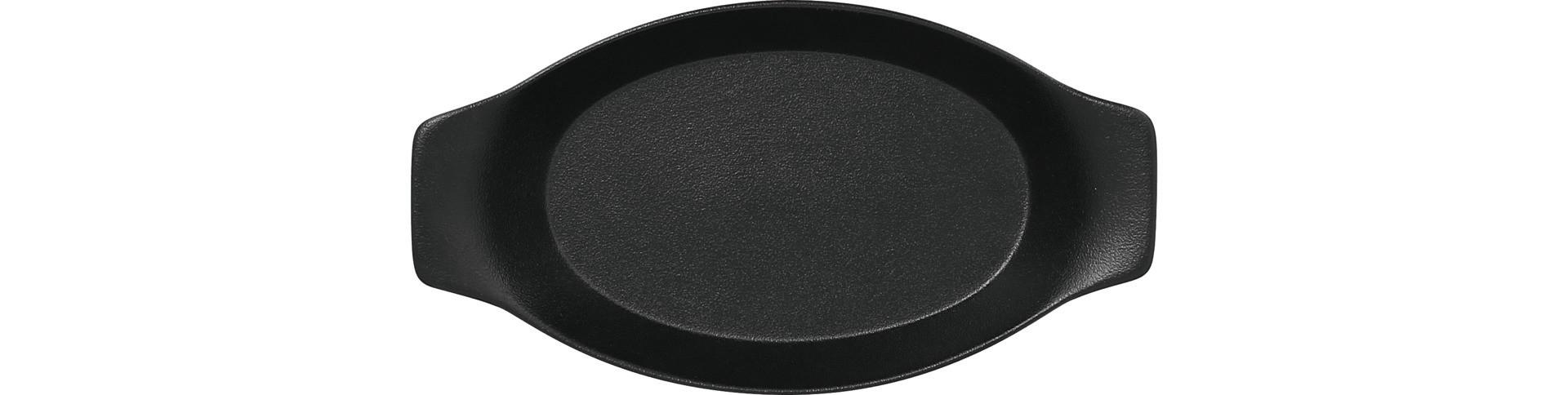 Neofusion, Schale oval mit Griffen 250 x 140 mm / 0,42 l volcano