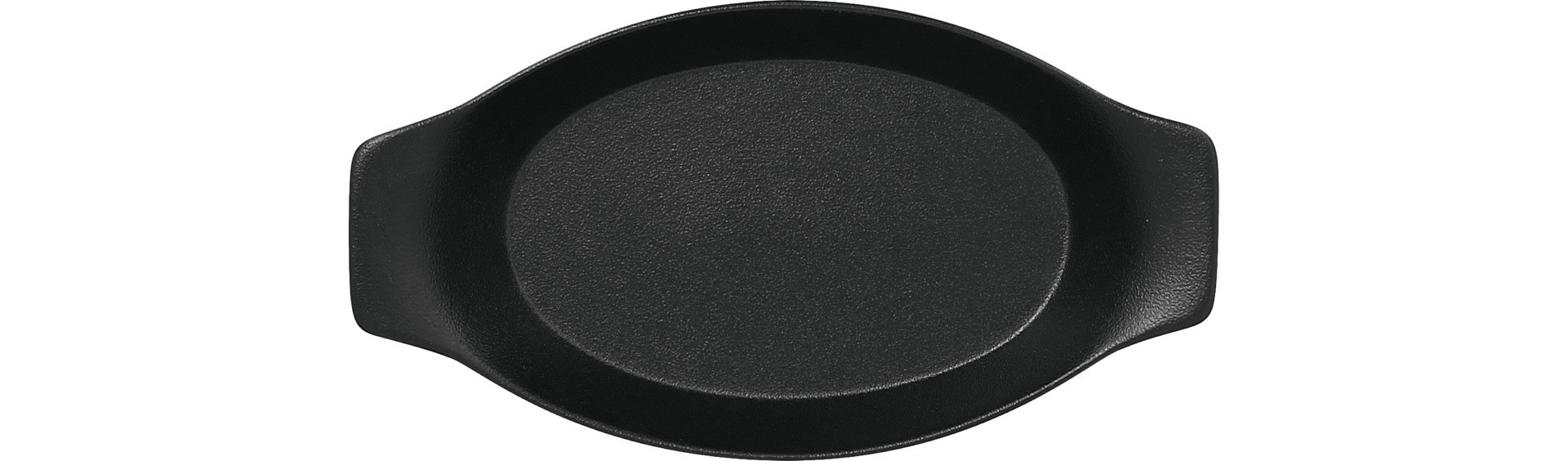Neofusion, Schale oval mit Griffen 300 x 160 mm / 0,78 l volcano