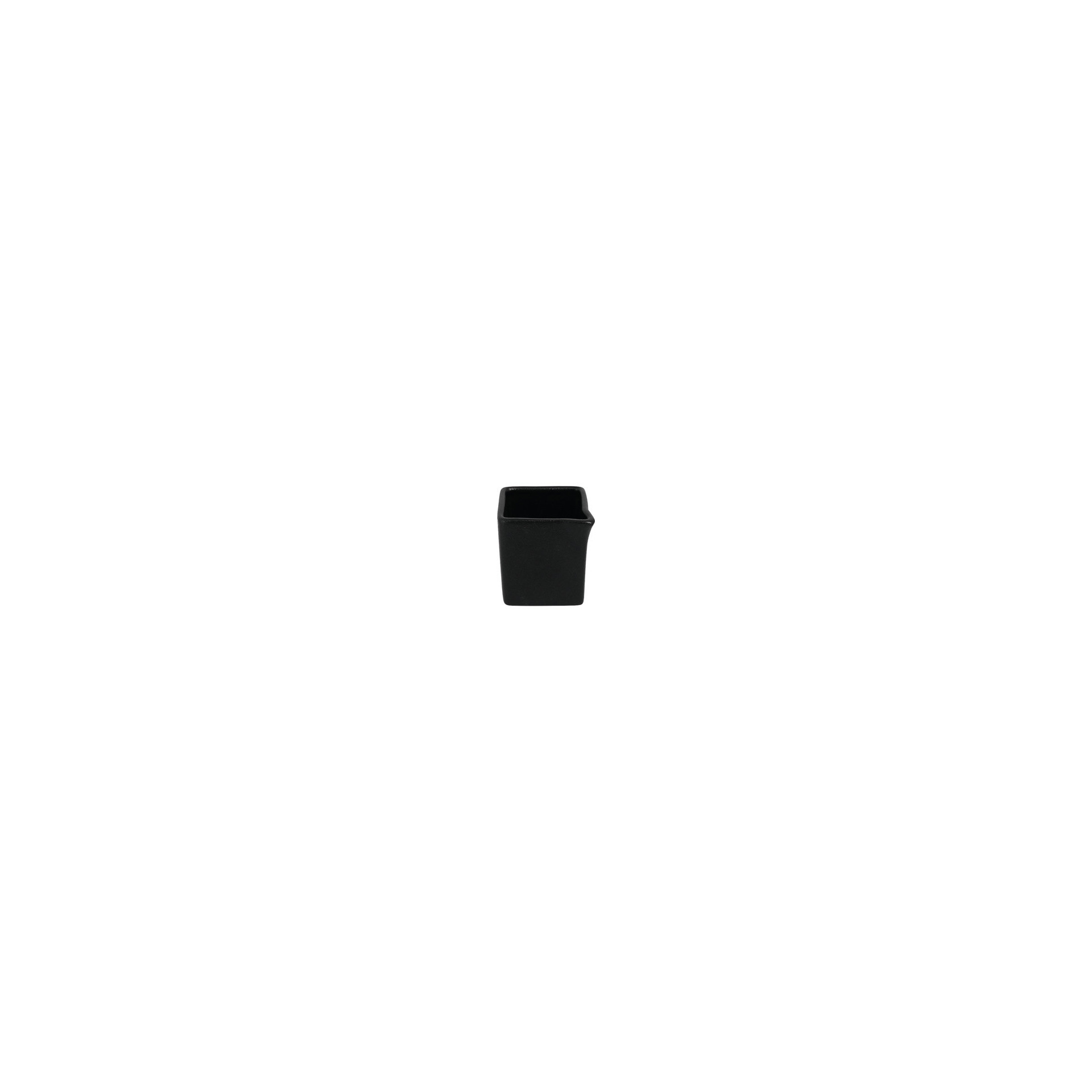 Neofusion, Sauciere / Milchkännchen quadratisch 53 x 53 x 58 mm / 0,08 l volcano