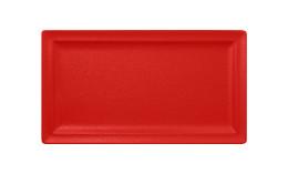 Neofusion, Teller flach rechteckig 380 x 210 mm ember