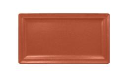 Neofusion, Teller flach rechteckig 380 x 210 mm terra