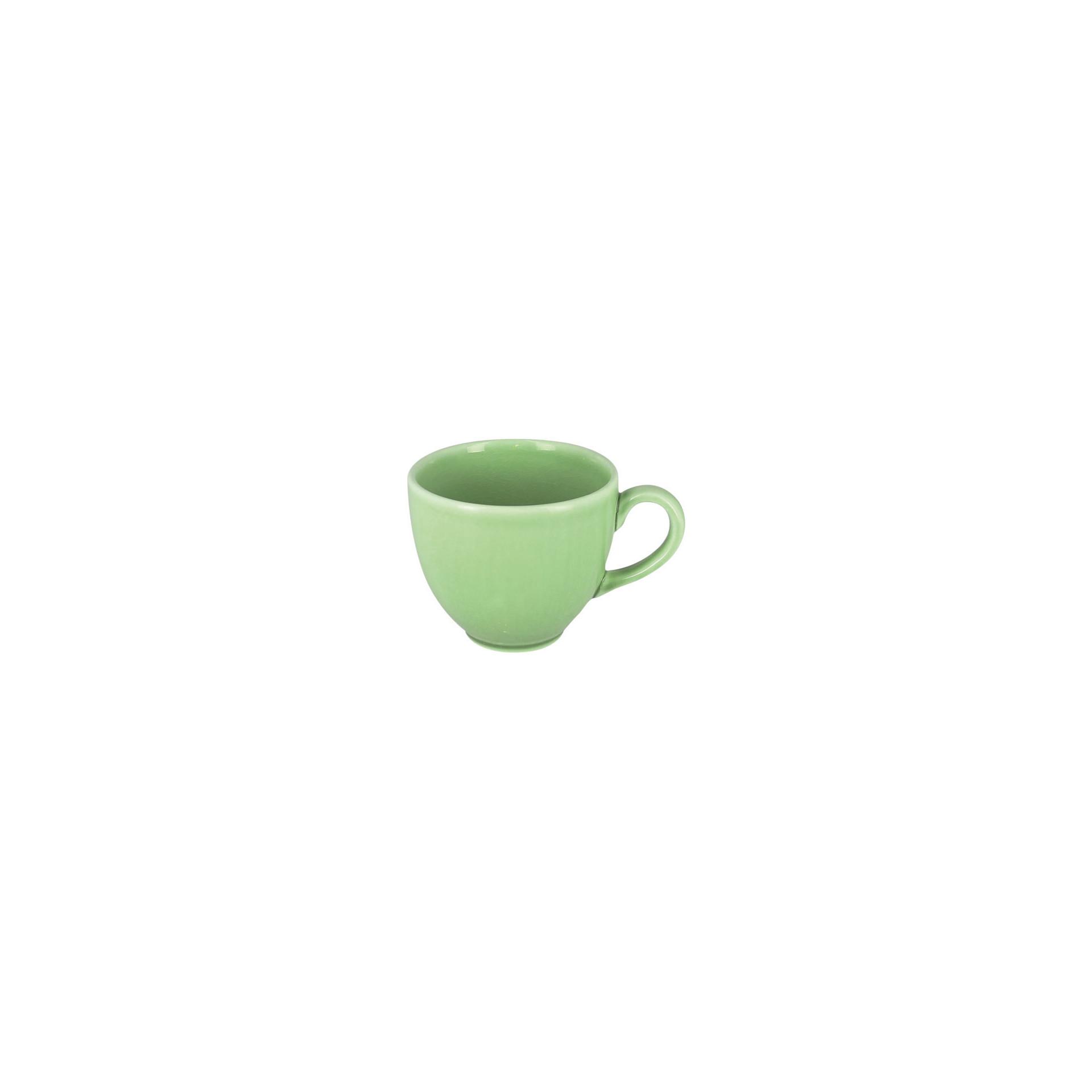 Vintage, Kaffeetasse ø 85 mm / 0,20 l plain-green