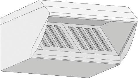 UltraVent Kondensationshaube für Typ 61 / 101 Elektro