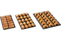 Backblech Bäckernorm gelocht / 600 x 400 mm / TriLax