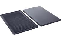 Grill- / Pizza-Platte Bäckernorm 600 x 400 mm / TriLax