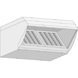 UltraVent Kondensationshaube für Typ 61 / 101 Gas