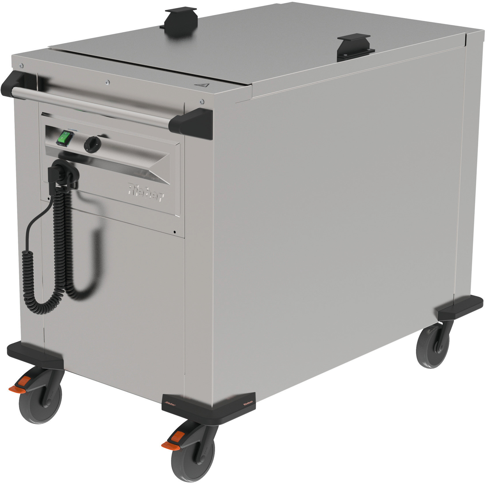 Plattformstapler fahrbar / Umluft beheizt / 535 x 660 mm / Stapelhöhe 600 mm