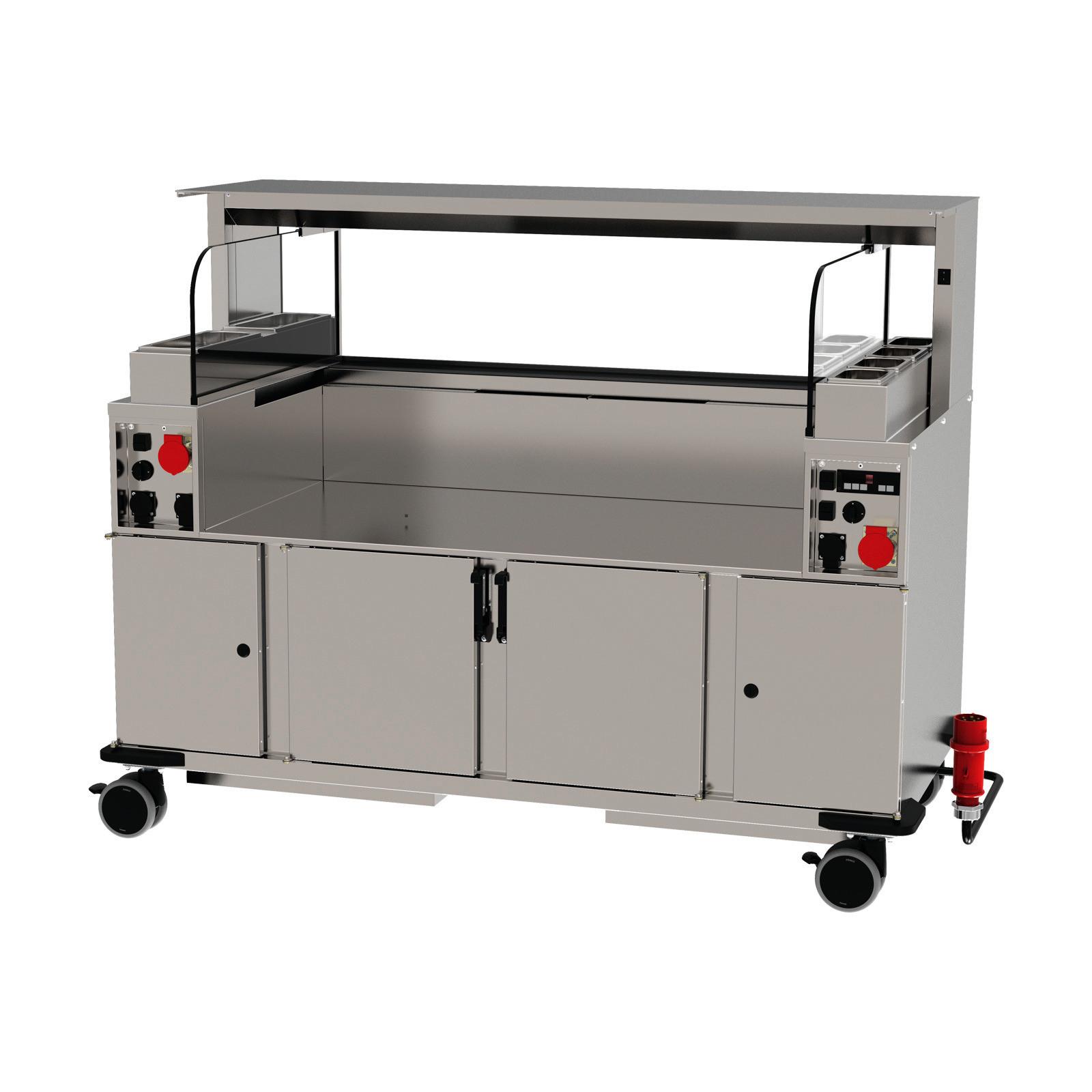 Frontcooking-Station ACS 1600 O3 digital / warm/warm / Plasmatechnologie
