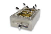 Elektro-Nudelkocher und Fritteuse / GN 1/1 / 200 mm tief / Auftischgerät
