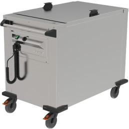 Plattformstapler fahrbar / Umluft beheizt / 535 x 510 mm / Stapelhöhe 600 mm