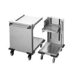 Plattformstapler offen fahrbar / 412 x 555 mm / Stapelhöhe 575 mm