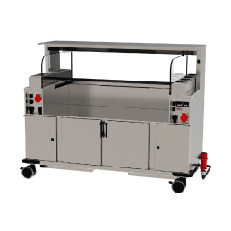 Frontcooking-Station ACS 1600 O3 digital / warm/kalt / Plasmatechnologie
