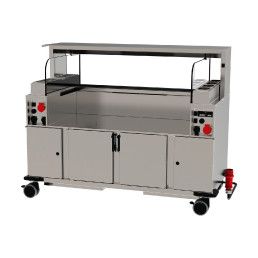 Frontcooking-Station ACS 1600 O3 digital / warm/warm / Plasmatechnologie