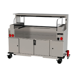 Frontcooking-Station ACS-1600 O3 digital / neutral/neutral / Plasmatechnologie