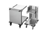 Plattformstapler offen fahrbar / 537 x 555 mm / Stapelhöhe 575 mm