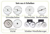 6er Scheiben-Set