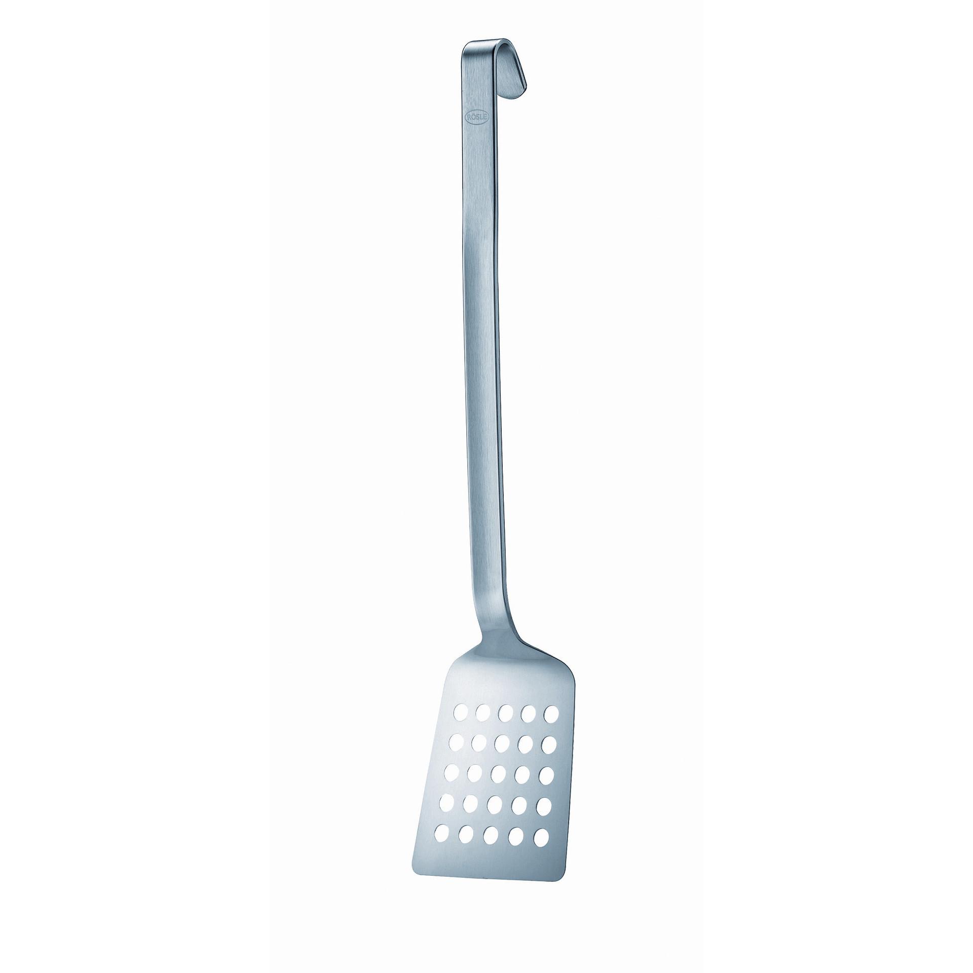 Gastro-Pfannenschaufel gelocht extra stabil 490 mm