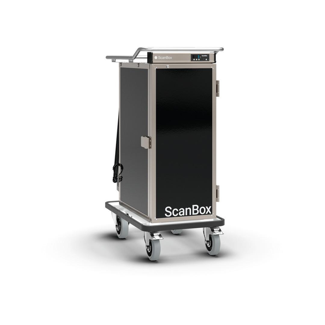 Speisentransportwagen 10 x GN 1/1-65 Kompressor Kühlung