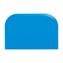 Cremeschaber 151 x 102 mm blau