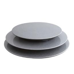 Tortenplatten ø 300 x 30 mm silber
