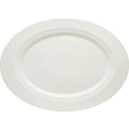 Allure, Platte oval mit Fahne 383 x 278 mm