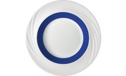 Donna Senior, Spezialteller tief mit Fahne ø 231 mm / 0,38 l dunkelblau
