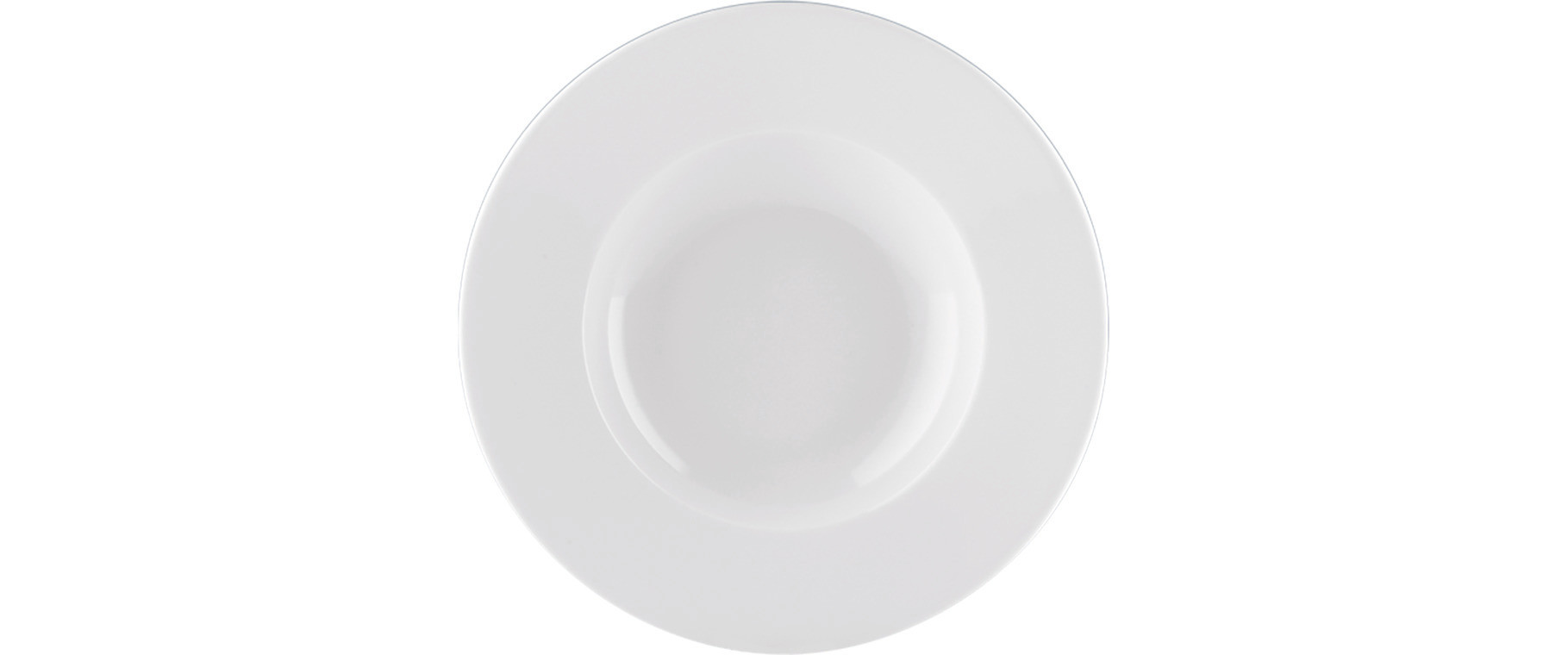 Fine Dining, Teller tief mit Fahne ø 283 mm / 0,45 l