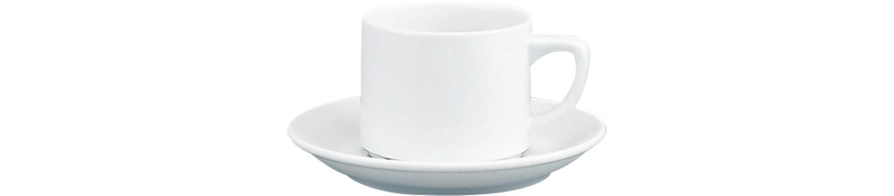 898/598, Tasse nieder dünn stapelbar ø 75 mm / 0,19 l Form 498