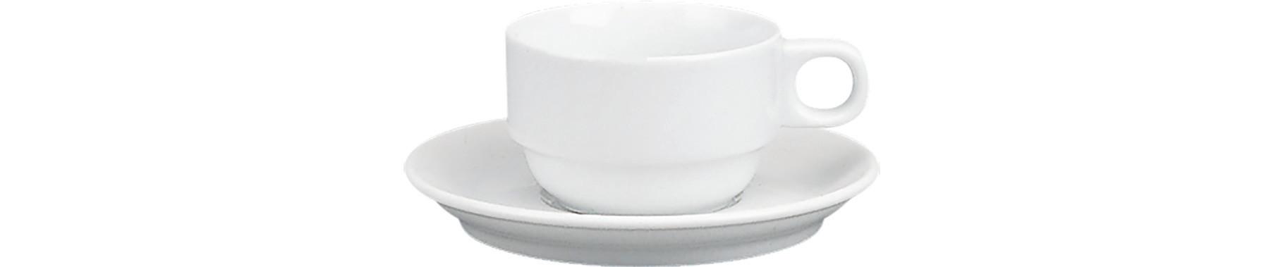 898/598, Tasse nieder stapelbar ø 83 mm / 0,18 l Form 898