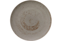 Pottery, Coupteller flach rund ø 261 mm Unique hellgrau