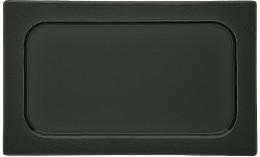 Scenario GN, GN-Schale Schwarzglas 1/1 530 x 325 x 19 mm