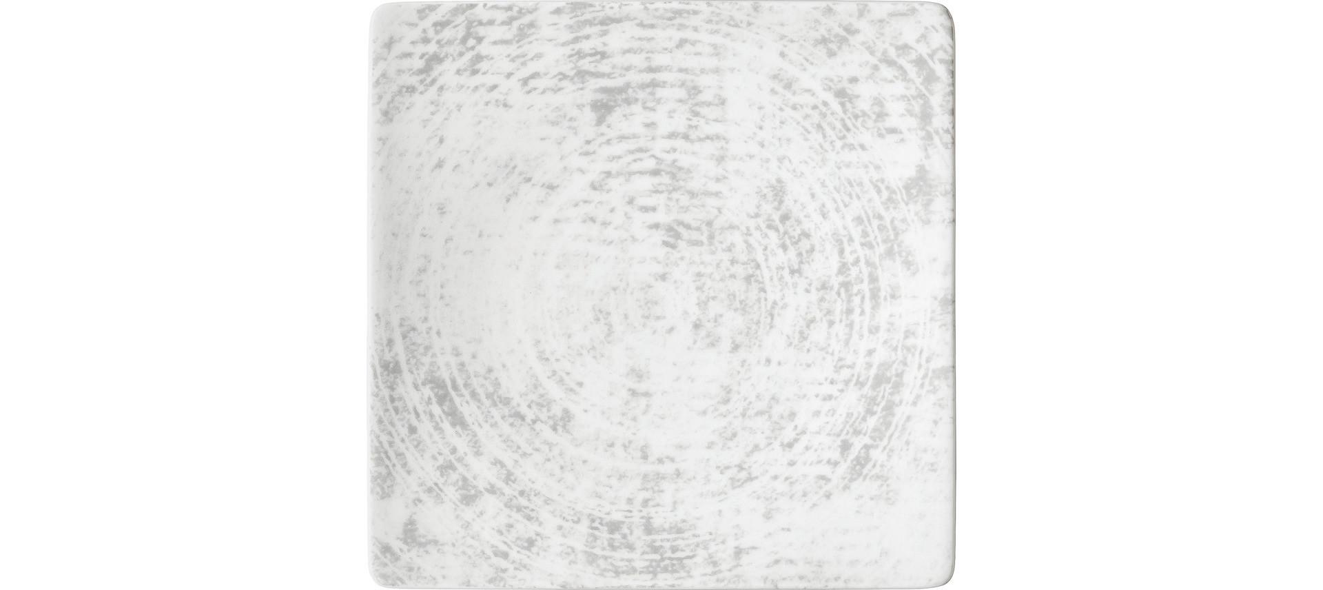 Shabby Chic, Coupteller halbtief eckig 166 x 166 mm Dekor 1