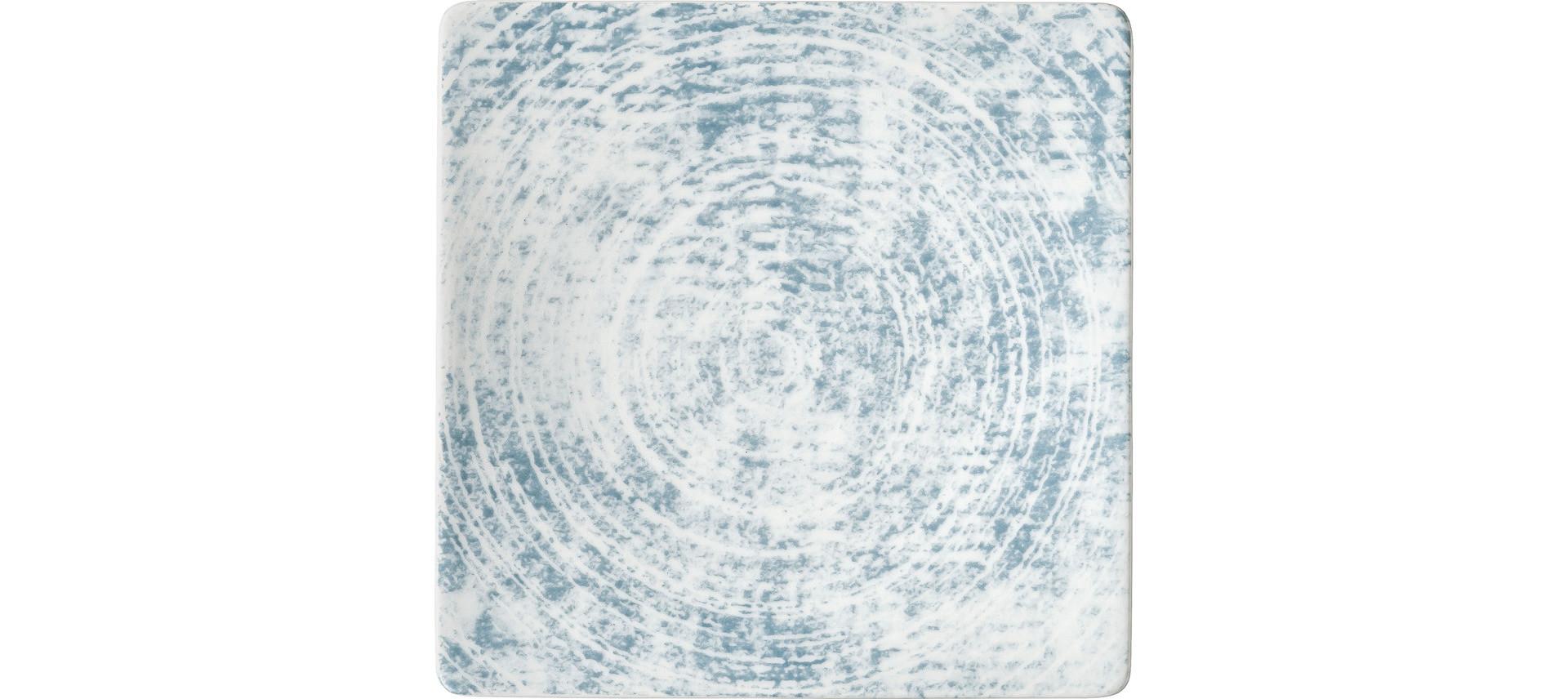 Shabby Chic, Coupteller halbtief eckig 166 x 166 mm Dekor 3