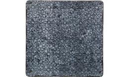Shabby Chic, Coupteller flach eckig 273 x 273 mm Dekor 8