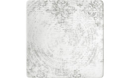 Shabby Chic, Coupteller halbtief eckig 238 x 238 mm Dekor 2