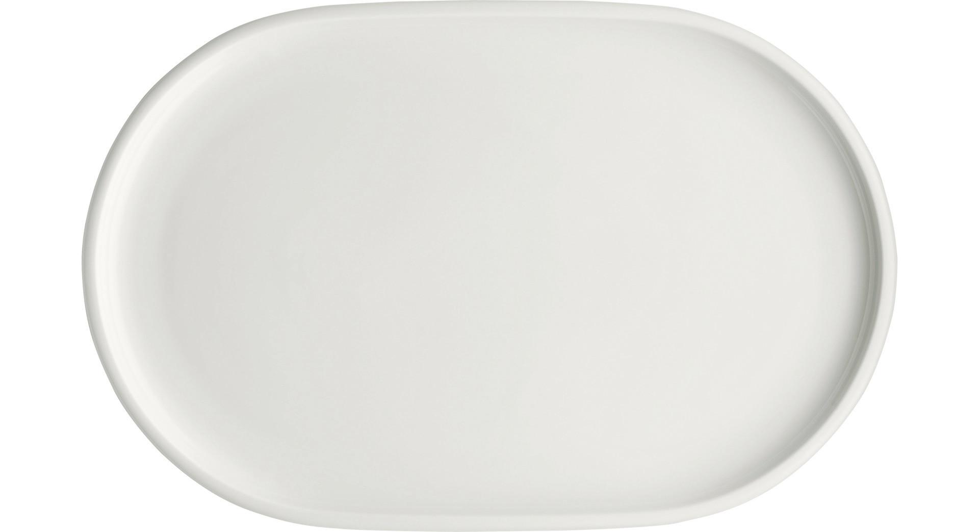 Shiro, Coupplatte oval 300 x 194 mm