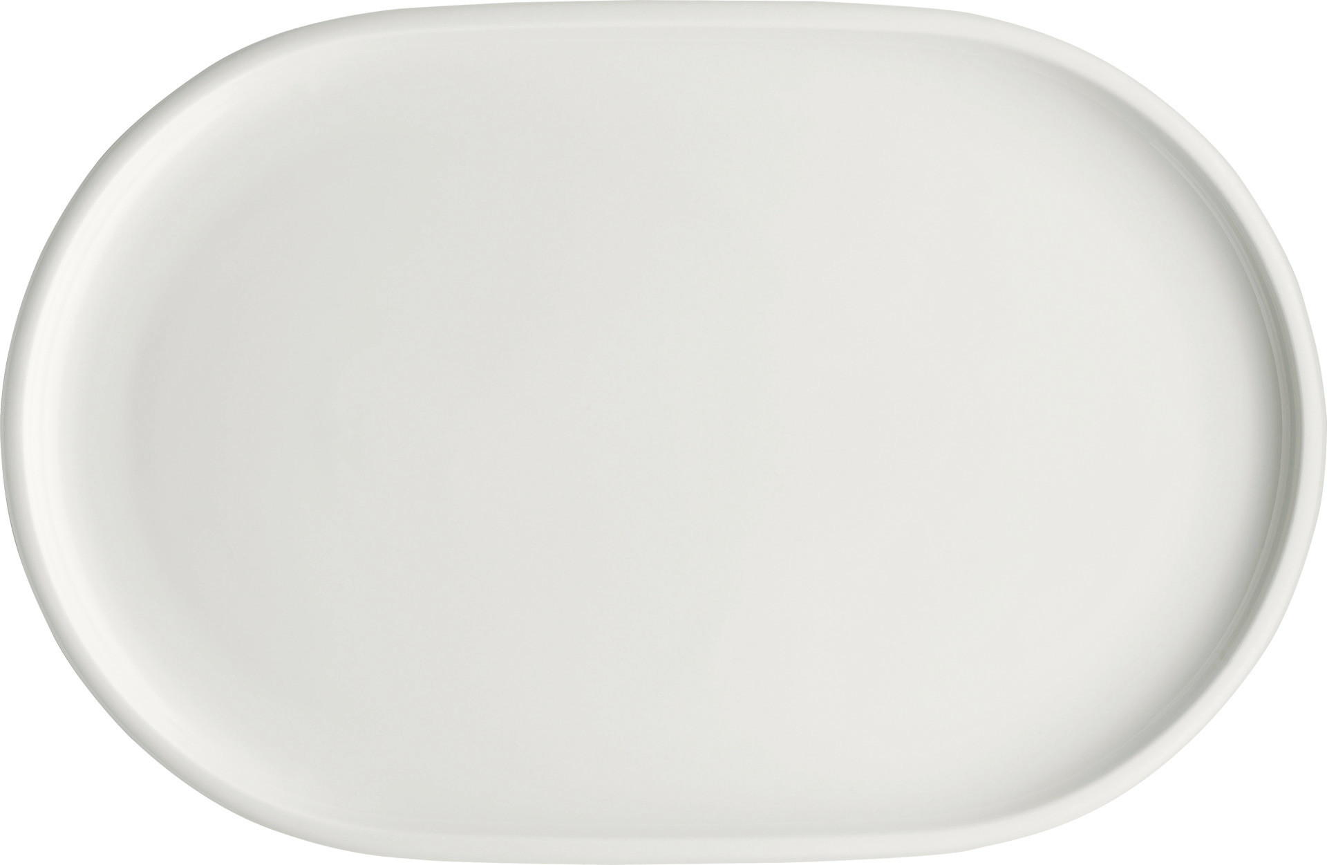 Shiro, Coupplatte oval 360 x 235 mm