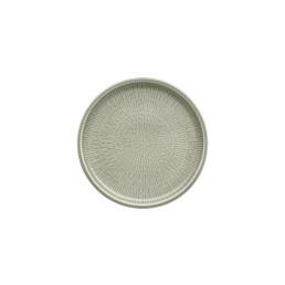 Shiro Glaze Steam, Coupteller flach ø 170 mm mit Struktur
