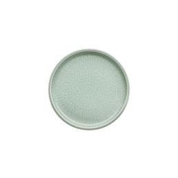Shiro Glaze Frost, Coupteller flach ø 170 mm mit Struktur