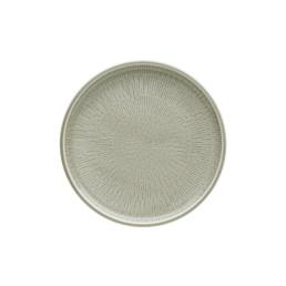 Shiro Glaze Steam, Coupteller flach ø 210 mm mit Struktur