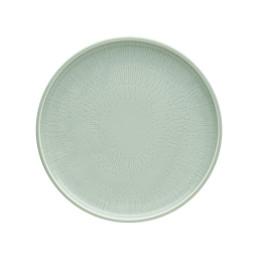 Shiro Glaze Frost, Coupteller flach ø 260 mm mit Struktur