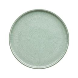 Shiro Glaze Frost, Coupteller flach ø 280 mm mit Struktur