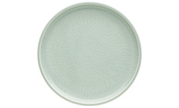Shiro Glaze Frost, Coupteller flach ø 210 mm mit Struktur