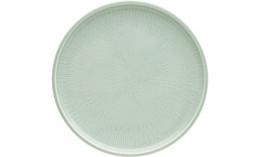 Shiro Glaze Frost, Coupteller flach ø 240 mm mit Struktur