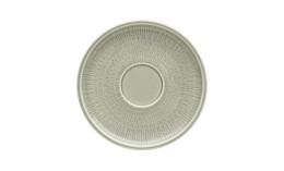 Shiro Glaze Steam, Kombi-Untertasse mit Struktur ø 165 mm